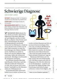 Titelbild der Ausgabe 8/2018 von Fallgeschichte aus dem Krankenhaus: Schwierige Diagnose. Zeitschriften als Abo oder epaper bei United Kiosk online kaufen.
