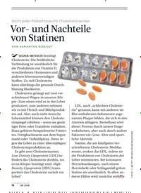 Titelbild der Ausgabe 8/2018 von Nicht jeder Patient braucht Cholesterinsenker: Vor- und Nachteile von Statinen. Zeitschriften als Abo oder epaper bei United Kiosk online kaufen.