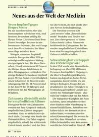 Titelbild der Ausgabe 8/2018 von Neues aus der Welt der Medizin. Zeitschriften als Abo oder epaper bei United Kiosk online kaufen.