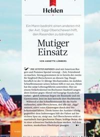 Titelbild der Ausgabe 10/2018 von Helden: Mutiger Einsatz. Zeitschriften als Abo oder epaper bei United Kiosk online kaufen.
