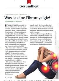 Titelbild der Ausgabe 11/2018 von Gesundheit: Was ist eine Fibromyalgie?. Zeitschriften als Abo oder epaper bei United Kiosk online kaufen.