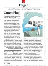 Titelbild der Ausgabe 11/2018 von Fragen: Guten Flug!. Zeitschriften als Abo oder epaper bei United Kiosk online kaufen.