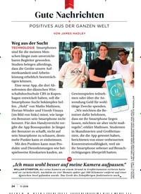 Titelbild der Ausgabe 11/2018 von Gute Nachrichten. Zeitschriften als Abo oder epaper bei United Kiosk online kaufen.