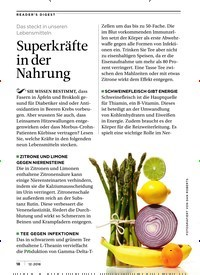 Titelbild der Ausgabe 12/2018 von Das steckt in unseren Lebensmitteln: Superkräfte in der Nahrung. Zeitschriften als Abo oder epaper bei United Kiosk online kaufen.