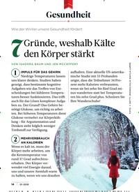 Titelbild der Ausgabe 1/2019 von Gesundheit: Wie der Winter unsere Gesundheit fördert: 7 Gründe, weshalb Kälte den Körper stärkt. Zeitschriften als Abo oder epaper bei United Kiosk online kaufen.