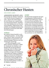 Titelbild der Ausgabe 2/2019 von Chronischer Husten. Zeitschriften als Abo oder epaper bei United Kiosk online kaufen.