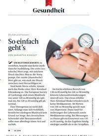 Titelbild der Ausgabe 3/2019 von Gesundheit: Blutdruckmessen: So einfach geht's. Zeitschriften als Abo oder epaper bei United Kiosk online kaufen.