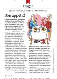 Titelbild der Ausgabe 3/2019 von Fragen: Bon appétit!. Zeitschriften als Abo oder epaper bei United Kiosk online kaufen.