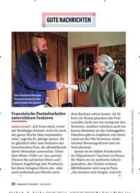 Titelbild der Ausgabe 4/2019 von GUTE NACHRICHTEN. Zeitschriften als Abo oder epaper bei United Kiosk online kaufen.