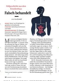 Titelbild der Ausgabe 5/2019 von Falsch behandelt. Zeitschriften als Abo oder epaper bei United Kiosk online kaufen.