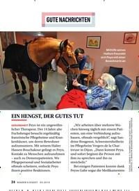 Titelbild der Ausgabe 5/2019 von GUTE NACHRICHTEN : EIN HENGST, DER GUTES TUT. Zeitschriften als Abo oder epaper bei United Kiosk online kaufen.
