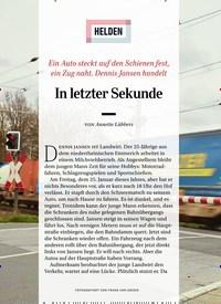 Titelbild der Ausgabe 7/2019 von HELDEN: In letzter Sekunde. Zeitschriften als Abo oder epaper bei United Kiosk online kaufen.
