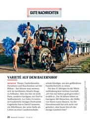 Titelbild der Ausgabe 10/2019 von GUTE NACHRICHTEN: VARIETÉ AUF DEM BAUERNHOF. Zeitschriften als Abo oder epaper bei United Kiosk online kaufen.