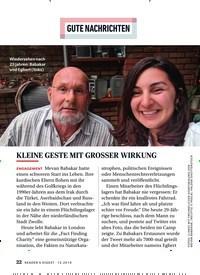 Titelbild der Ausgabe 12/2019 von GUTE NACHRICHTEN: KLEINE GESTE MIT GROSSER WIRKUNG. Zeitschriften als Abo oder epaper bei United Kiosk online kaufen.