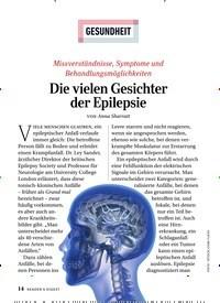 Titelbild der Ausgabe 1/2020 von GESUNDHEIT: Die vielen Gesichter der Epilepsie. Zeitschriften als Abo oder epaper bei United Kiosk online kaufen.