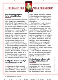 Titelbild der Ausgabe 1/2020 von NEUES AUS DER WELT DER MEDIZIN. Zeitschriften als Abo oder epaper bei United Kiosk online kaufen.