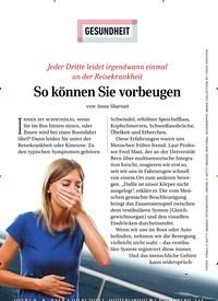 Titelbild der Ausgabe 3/2020 von GESUNDHEIT: So können Sie vorbeugen. Zeitschriften als Abo oder epaper bei United Kiosk online kaufen.
