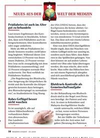 Titelbild der Ausgabe 3/2020 von NEUES AUS DER WELT DER MEDIZIN. Zeitschriften als Abo oder epaper bei United Kiosk online kaufen.