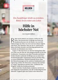 Titelbild der Ausgabe 5/2020 von HELDEN: Hilfe in höchster Not. Zeitschriften als Abo oder epaper bei United Kiosk online kaufen.