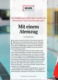 Titelbild der Ausgabe 8/2020 von HELDEN: Mit einem Atemzug. Zeitschriften als Abo oder epaper bei United Kiosk online kaufen.