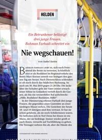 Titelbild der Ausgabe 9/2020 von HELDEN: Nie wegschauen!. Zeitschriften als Abo oder epaper bei United Kiosk online kaufen.