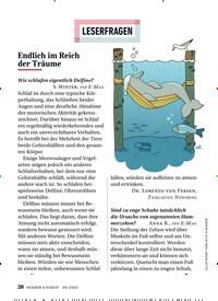 Titelbild der Ausgabe 9/2020 von LESERFRAGEN: Endlich im Reich der Träume. Zeitschriften als Abo oder epaper bei United Kiosk online kaufen.