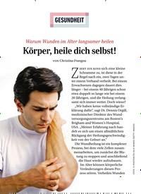 Titelbild der Ausgabe 1/2021 von GESUNDHEIT: Körper, heile dich selbst!. Zeitschriften als Abo oder epaper bei United Kiosk online kaufen.