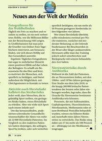 Titelbild der Ausgabe 10/2018 von Neues aus der Welt der Medizin. Zeitschriften als Abo oder epaper bei United Kiosk online kaufen.