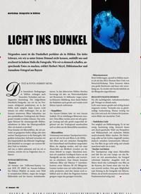 Titelbild der Ausgabe 3/2020 von workshop: fotografie in höhlen: LICHT INS DUNKEL. Zeitschriften als Abo oder epaper bei United Kiosk online kaufen.