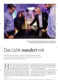 Titelbild der Ausgabe 1/2019 von HAUSGERÄTE NEUHEITEN: Das Licht wandert mit. Zeitschriften als Abo oder epaper bei United Kiosk online kaufen.