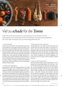 Titelbild der Ausgabe 1/2019 von HAUSGERÄTE NEUHEITEN: Viel zu schade für die Tonne. Zeitschriften als Abo oder epaper bei United Kiosk online kaufen.