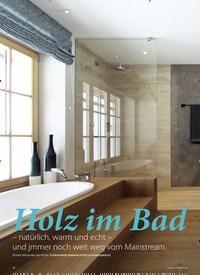 Titelbild der Ausgabe 3/2019 von BADREPORTAGE: Holz im Bad. Zeitschriften als Abo oder epaper bei United Kiosk online kaufen.