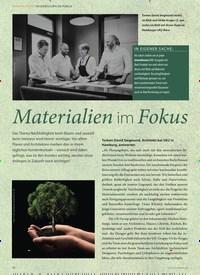 Titelbild der Ausgabe 3/2019 von NACHHALTIGKEIT: Materialien im Fokus. Zeitschriften als Abo oder epaper bei United Kiosk online kaufen.