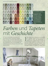 Titelbild der Ausgabe 4/2019 von Farben und Tapeten mit Geschichte. Zeitschriften als Abo oder epaper bei United Kiosk online kaufen.