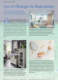 Titelbild der Ausgabe 2/2020 von Special: Ökologie im Badezimmer. Zeitschriften als Abo oder epaper bei United Kiosk online kaufen.
