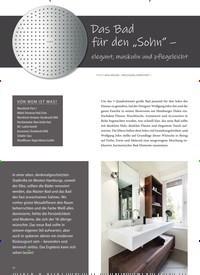 """Titelbild der Ausgabe 3/2020 von Das Bad für den """"Sohn"""" - elegant, maskulin und pflegeleicht. Zeitschriften als Abo oder epaper bei United Kiosk online kaufen."""