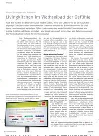 Titelbild der Ausgabe 4/2018 von Messe-Strategien der Industrie: LivingKitchen im Wechselbad der Gefühle. Zeitschriften als Abo oder epaper bei United Kiosk online kaufen.