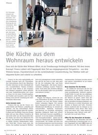 Titelbild der Ausgabe 6/2018 von Die Küche aus dem Wohnraum heraus entwickeln. Zeitschriften als Abo oder epaper bei United Kiosk online kaufen.