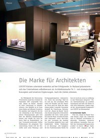 Titelbild der Ausgabe 6/2018 von Die Marke für Architekten. Zeitschriften als Abo oder epaper bei United Kiosk online kaufen.