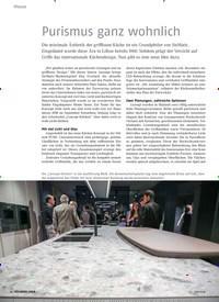 Titelbild der Ausgabe 6/2018 von Purismus ganz wohnlich. Zeitschriften als Abo oder epaper bei United Kiosk online kaufen.
