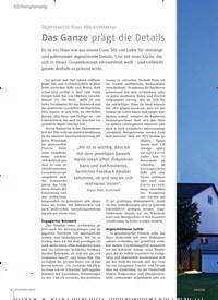Titelbild der Ausgabe 8/2018 von Objektbericht Klaus Mäs Architektur: Das Ganze prägt die Details. Zeitschriften als Abo oder epaper bei United Kiosk online kaufen.