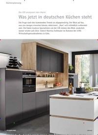 Titelbild der Ausgabe 8/2018 von Die GfK analysiert den Markt: Was jetzt in deutschen Küchen steht. Zeitschriften als Abo oder epaper bei United Kiosk online kaufen.