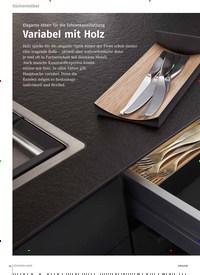 Titelbild der Ausgabe 8/2018 von Elegante Ideen für die Schrankausstattung: Variabel mit Holz. Zeitschriften als Abo oder epaper bei United Kiosk online kaufen.