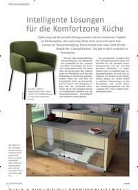 Titelbild der Ausgabe 9/2018 von Intelligente Lösungen für die Komfortzone Küche. Zeitschriften als Abo oder epaper bei United Kiosk online kaufen.