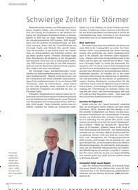 Titelbild der Ausgabe 11/2018 von Schwierige Zeiten für Störmer. Zeitschriften als Abo oder epaper bei United Kiosk online kaufen.