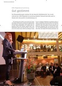 Titelbild der Ausgabe 4/2019 von AMK-Mitgliederversammlung: Gut gestimmt. Zeitschriften als Abo oder epaper bei United Kiosk online kaufen.