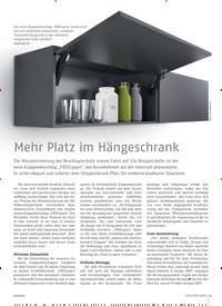 Titelbild der Ausgabe 6/2019 von Mehr Platz im Hangeschrank. Zeitschriften als Abo oder epaper bei United Kiosk online kaufen.