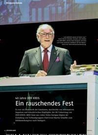 Titelbild der Ausgabe 6/2019 von 40 Jahre DER KREIS: Ein rauschendes Fest. Zeitschriften als Abo oder epaper bei United Kiosk online kaufen.