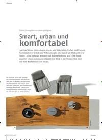 Titelbild der Ausgabe 2/2020 von Einrichtungsmesse imm cologne: Smart, urban und komfortabel. Zeitschriften als Abo oder epaper bei United Kiosk online kaufen.