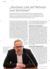 """Titelbild der Ausgabe 2/2020 von """"Durchaus Lust auf Wohnen und Einrichten"""". Zeitschriften als Abo oder epaper bei United Kiosk online kaufen."""